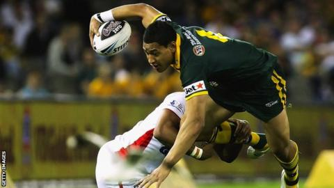 Israel Folau to return to rugby league with Tongan national team