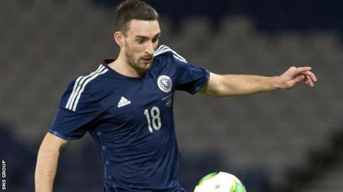 Lee Wallace last played for Scotland in 2013