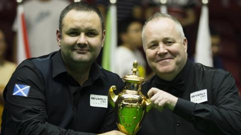 Stephen Maguire and John Higgins won the World Cup together in June