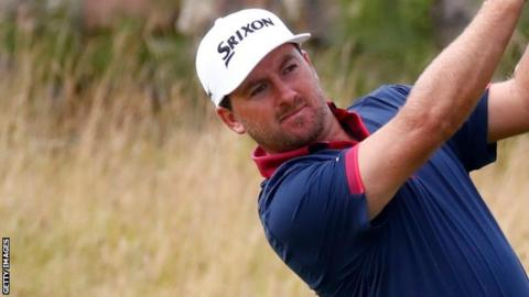 Graeme McDowell's round on Saturday included eight birdies