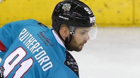 David Rutherford scored the first goal for the Giants