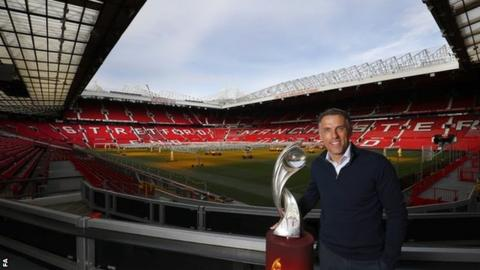 Phil Neville at Old Trafford