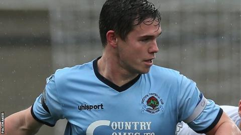 McCrudden was Institute's top goalscorer last season as they earned promotion from the Championship