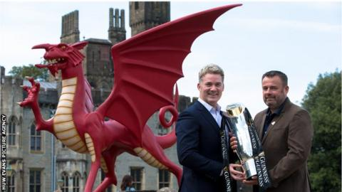 Pro14 chief executive Martin Anayi and Welsh Rugby Union chief executive Martyn Phillips
