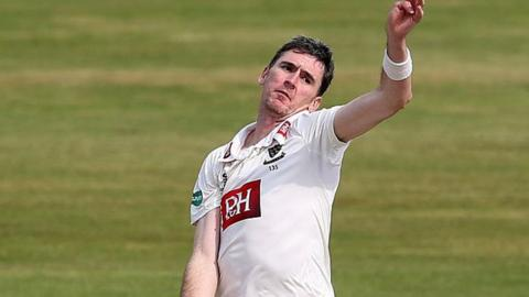 Australian Steve Magoffin claimed his fourth 10-wicket match haul for Sussex