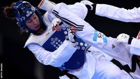 British taekwondo fighter Bianca Walkden