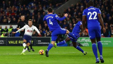 Tottenham make eight changes for Tranmere clash