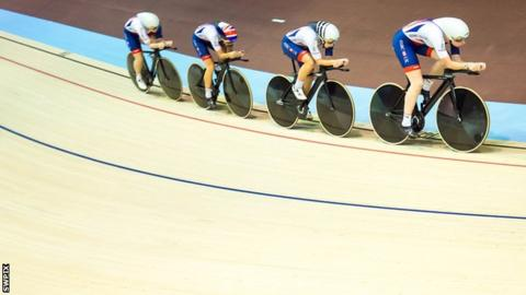 Great Britain's team pursuit