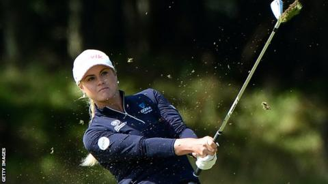Carly Booth at the Czech Open