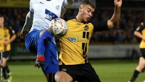 Dion Charles joined Southport from Fleetwood Town for an undisclosed fee in January 2018
