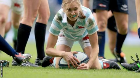Cambridge University full-back Alice Middleton
