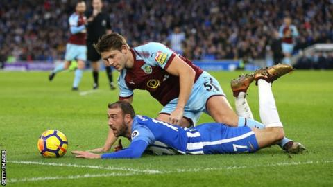 James Tarkowski: Burnley defender accepts violent conduct charge