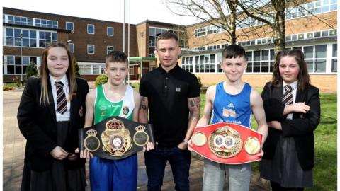 Frampton offered advice on a wide range of topics, including how to fulfil your potential and how best to deal with bullies