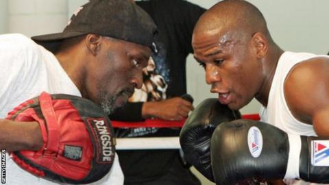 Floyd Mayweather Jr. vows to follow uncle Roger as great trainer
