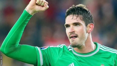 Northern Ireland striker Kyle Lafferty