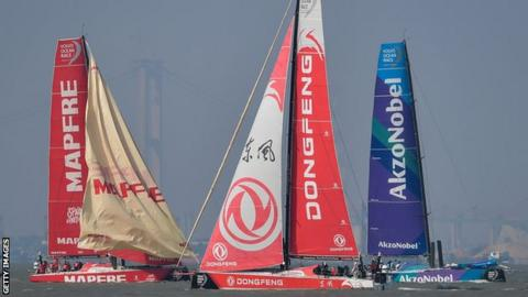 Team AkzoNobel wins Leg 6 of Volvo Ocean Race.