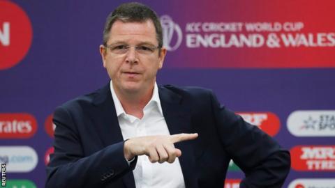 ICC anti-corruption chief Alex Marshall