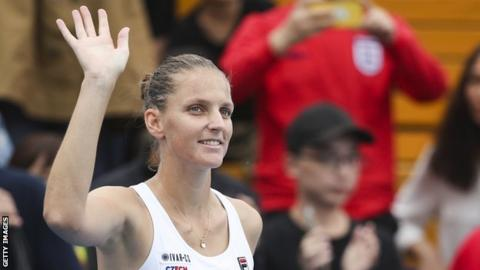Pliskova claims fourth WTA title of year at the Zhengzhou Open