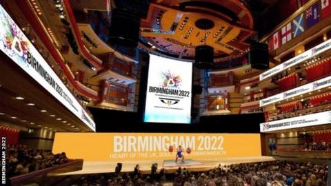 Weightlifting will be held at Birmingham's Symphony Hall under the city's plans
