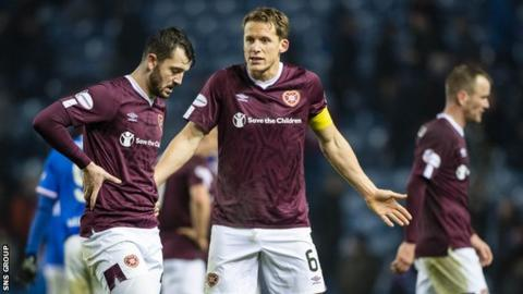 Hearts captain Christophe Berra has been told he is free to find another club