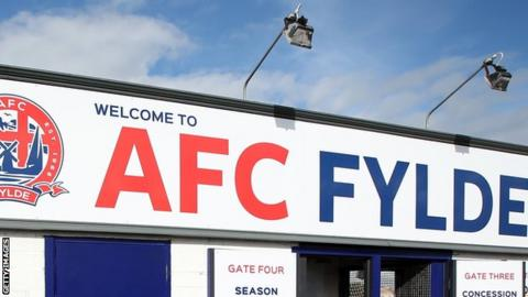 AFC Fylde are ninth in the National League table