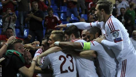 2014: After falling behind against minnows Andorra, Gareth Bale spares Coleman's blushes with two goals to secure victory in the opening Euro 2016 qualifier.