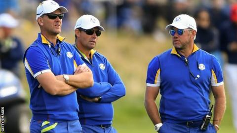 Karlsson named Euro Ryder Cup vice captain