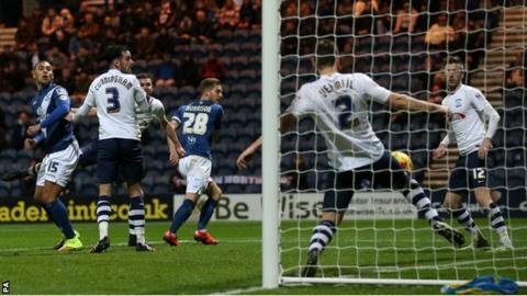 Birmingham's goal
