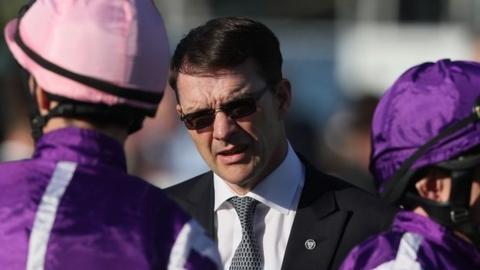 Trainer Aidan O'Brien