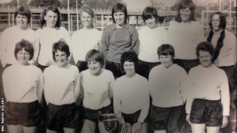 Southampton, winners of first Women's FA Cup