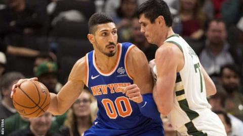 Enes Kanter New York Knicks Player Will Not Travel To London Over