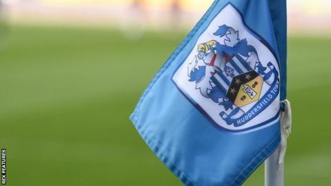 Huddersfield Town corner flag