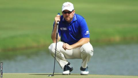 Scotland's Richie Ramsay finished in a tie for sixth place at the Dubai Desert Classic