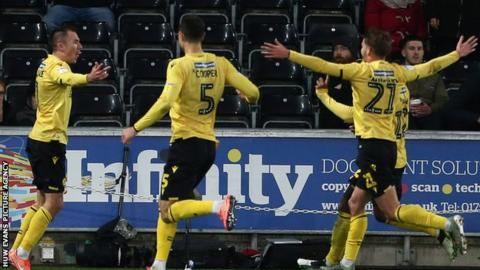 Millwall celebrate goal