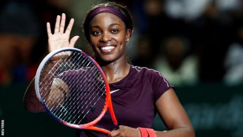 Sloane Stephens beats Naomi Osaka in Singapore — WTA Finals