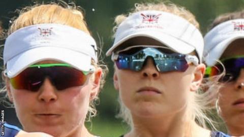 GB rowing women's four