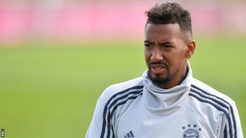 Boateng fined for leaving Munich and visiting injured son 'without permission'
