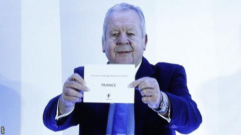 ef971a18793 World Rugby chairman Bill Beaumont announced the decision in London on  Wednesday