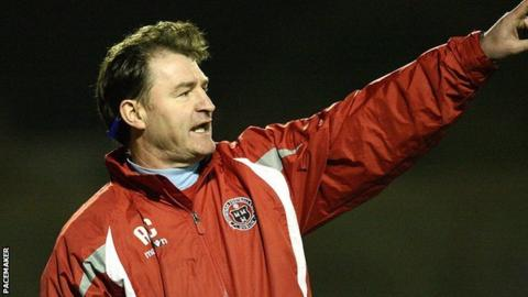 Aaron Callaghan is the new manager of Carrick Rangers