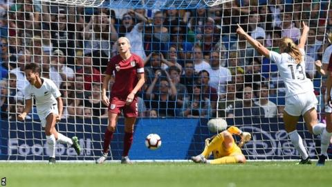 England Women defeated in final World Cup warm-up