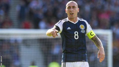 Scotland captain Scott Brown
