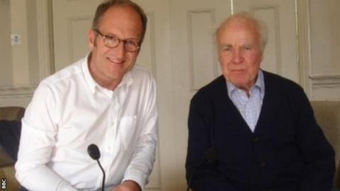 Hugh McIlvanney in conversation with Geoff Webster in 2015