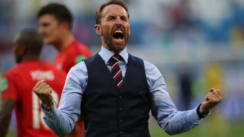 England coach Gareth Southgate