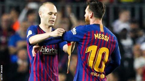 Messi succeeds Iniesta, named new FC Barcelona captain
