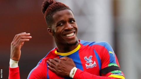 Wilfried Zaha: I had death threats after Arsenal draw
