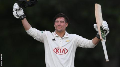 Surrey skipper Rory Burns