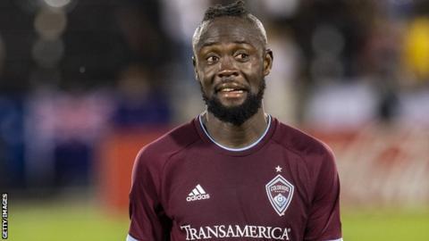 Sierra Leone and Colorado Rapids forward Kei Kamara
