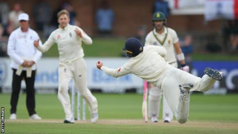 England in South Africa: Joe Root takes four wickets in Port Elizabeth
