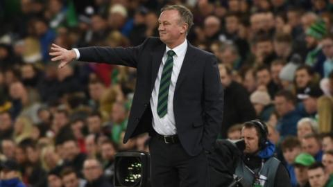 Michael O'Neill's Northern Ireland reign ends early