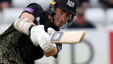 James Bracey batting for Gloucestershire